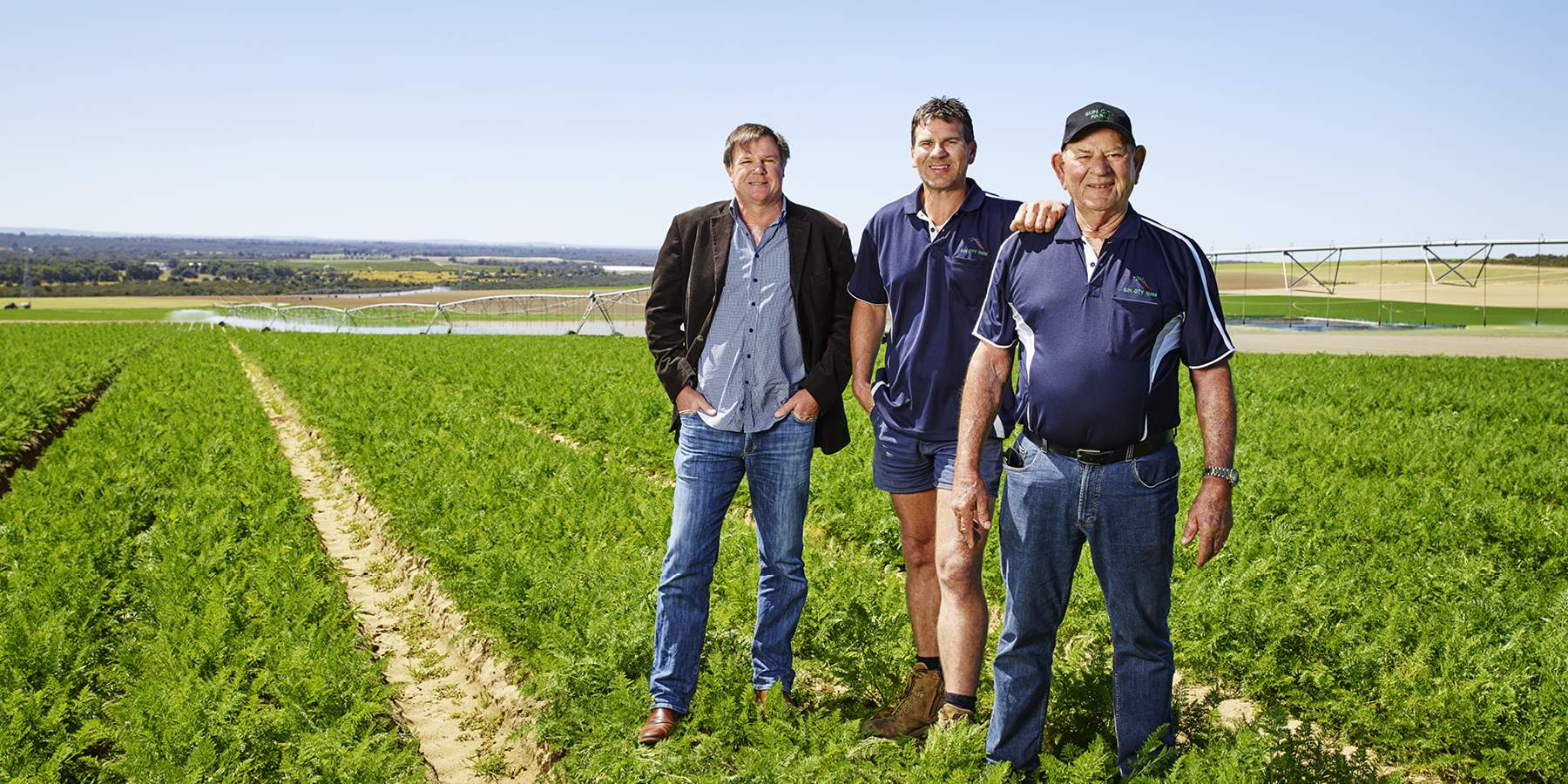 Two generations of WA carrot farming
